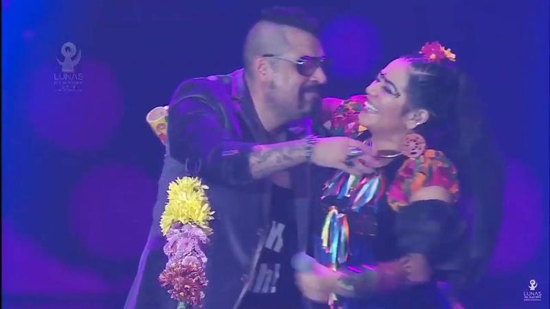 Lila Downs y Panteón Rococó Lunas del Auditorio 2019.