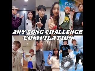 ZICO Any Song Challenge Compilation (Chungha, Hwasa, AB6IX, Mino, Hyori, Mina Myoung, More)