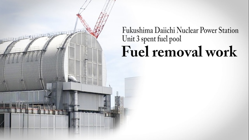 2019.7.24 Fuel removal work from the Unit 3 spent fuel pool at Fukushima Daiichi NPS