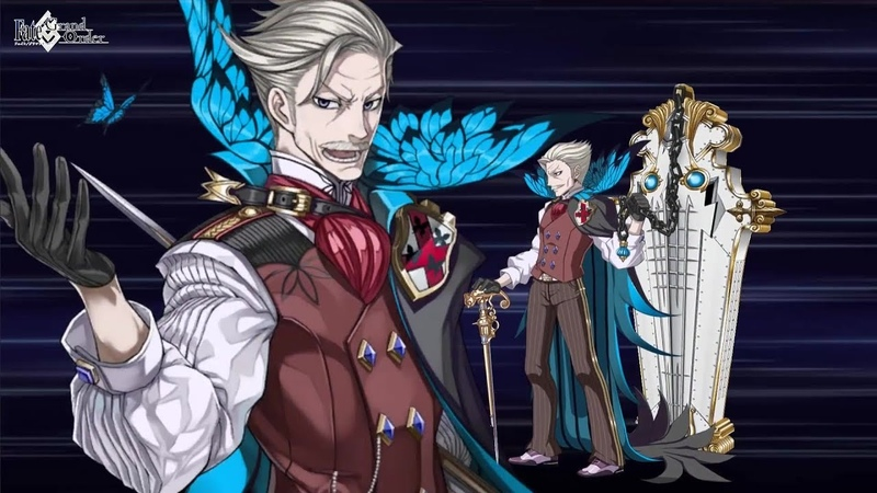 Fate/Grand Order (JP) James Moriarty Noble Phantasm: The Dynamics of an Asteroid