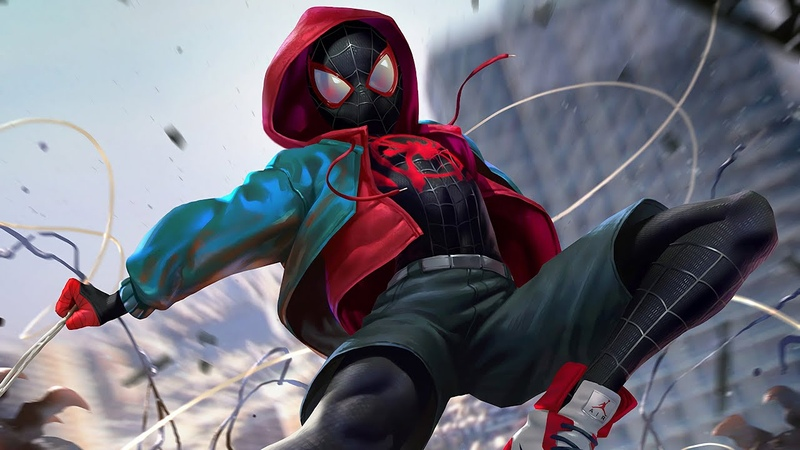 $UICIDE BOY$ - South Side Suicide (ft.Pouya) - AMV Spider-Man New Generation