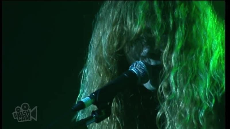 Megadeth Symphony of Destruction Live in Sydney Moshcam