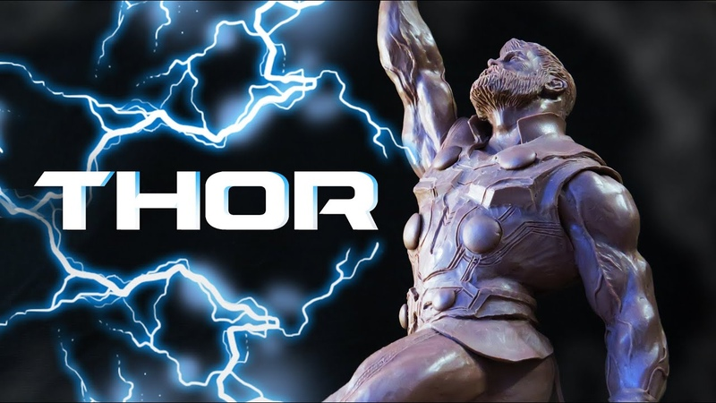 Sculpting Thor / Тор - лепка персонажа ,скульптура из пластилина / Marvel
