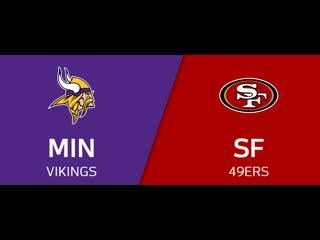 Nfl 2019-2020 / nfc divisional / minnesota vikings san francisco 49ers / viasat sport hd / live stream