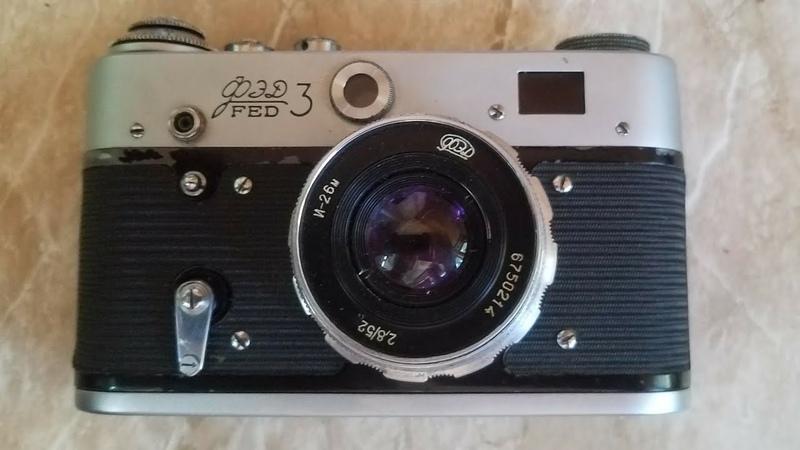 Обзор плёночного фотоаппарата ФЭД 3