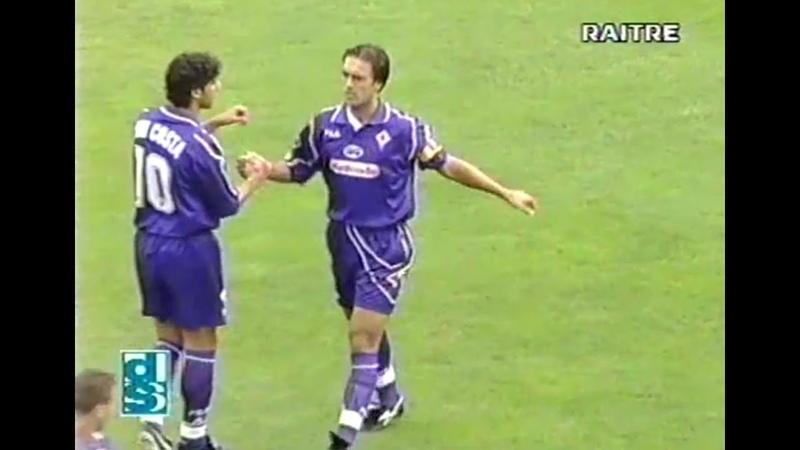 Serie A 1997/98, Fiorentina-Bari 3-1 (Канчельскис забил на 39 минуте - почти самый конец видео))