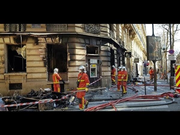 Incendie de la banque Tarneaud rue Franklin Roosevelt un témoin blanchi les gilets jaunes