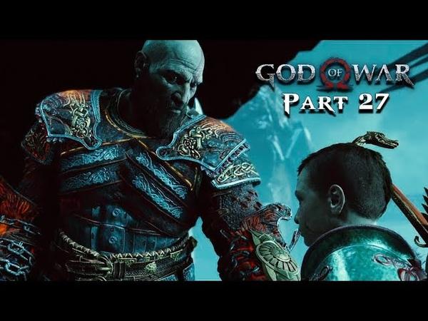 GOD OF WAR Walkthrough Gameplay Part 27 - HELHEIM (God of War 4)
