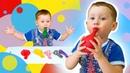 Учим цвета на русском языке для малышей и для самых маленьких