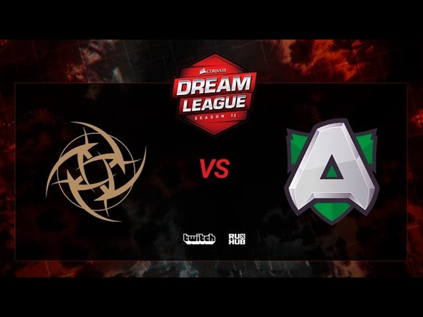 Ninjas in Pyjamas vs Alliance, DreamLeague S12, bo3, game 2 [Jam Mortalles]