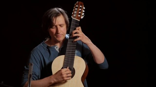 J.S. Bach - Allemande from Suite Lute, BWV 996 | Brahms Guitar (2020)