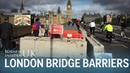 There are now concrete security barriers on London's bridges after the terror attacks