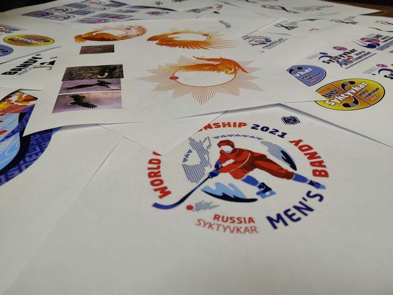 Чемпионат мира по хоккею с мячом 2021 года в Сыктывкаре обрел эмблему, изображение №1