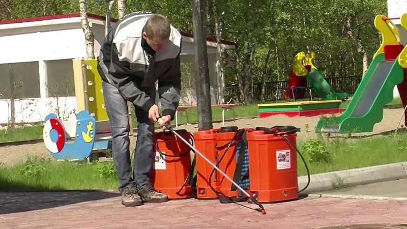 Огнезащитная обработка пропитка древесины Мурманск 2017г.