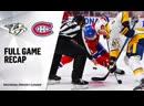 НХЛ - регулярный чемпионат. Матч №69. «Монреаль Канадиенс» - «Нэшвилл Предаторз» - 24