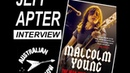 Jeff Apter Interview Malcolm Young Book Author 2019 AC DC