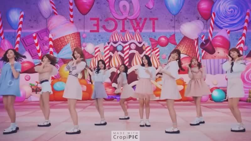 TWICE 트와이스 Candy Pop Dance Practice Mirrored