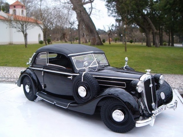 Model Car 1939 Auto Union Horch 930V cabrio 1 18 scale by Ricko