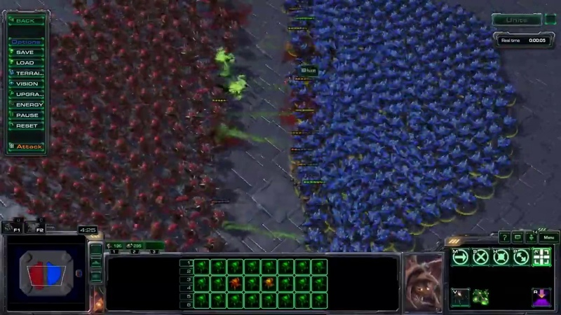 Starcraft 2 - 200 HYDRALISKS vs 300 ROACHES!!