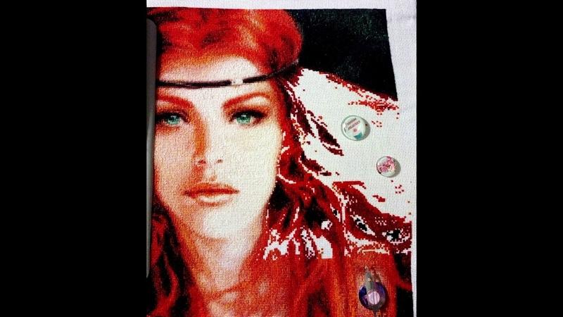 Рыжая - отшив схемы ХИМЕРЫ