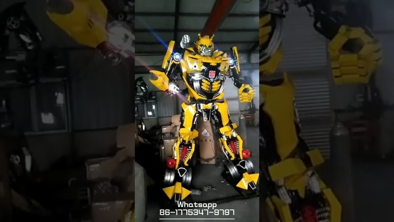 Transformers Costumes Bumblebee 01