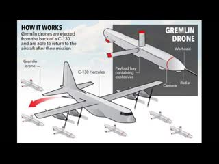 Us x-61a gremlins reusable, air launched and recovered drones