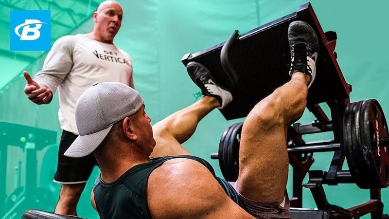Build Massive Quads w Hypertrophy Training Stan 'The Rhino' Efferding Mark Bell