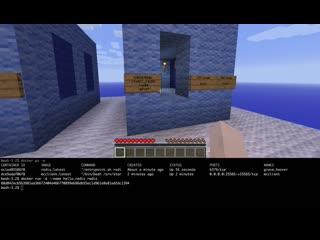 Minecraft docker client