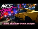 Need for Speed HEAT | Teaser Trailer In-Depth Analysis (Cars, Details More)