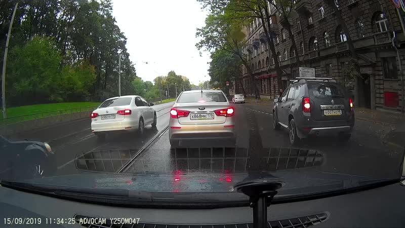 Авария Б.Сампсониевский