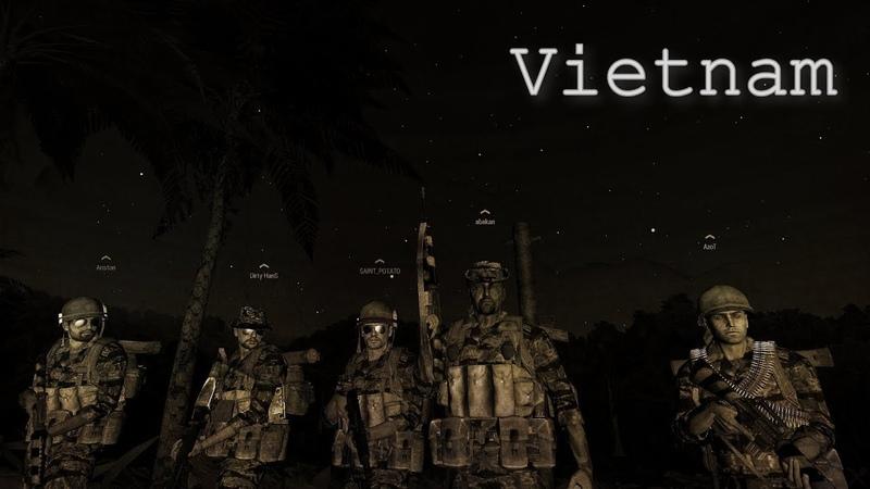 Vietnam ARMA 3 отряд RD-PMC
