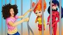 Леди Баг против десептиконов Видео для детей Охотники за игрушками