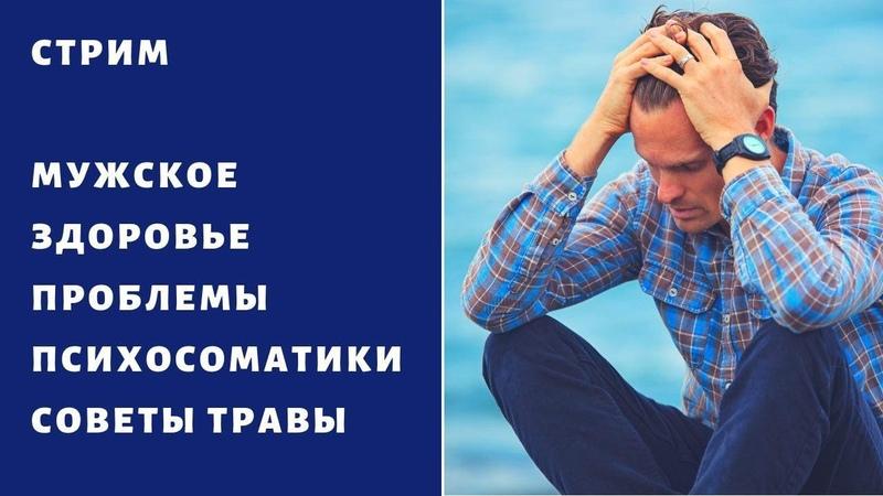 СТРИМ Мужское здоровье Психосоматика Советы Травы