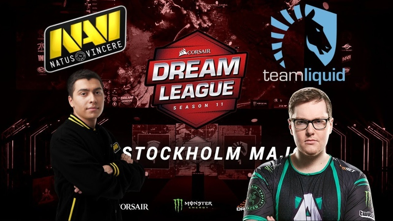 🔴DOTA 2[RU]Natus Vincere vs Team Liquid(Best of 3) DreamLeague S13, Group D, Upper Bracket,Round 1