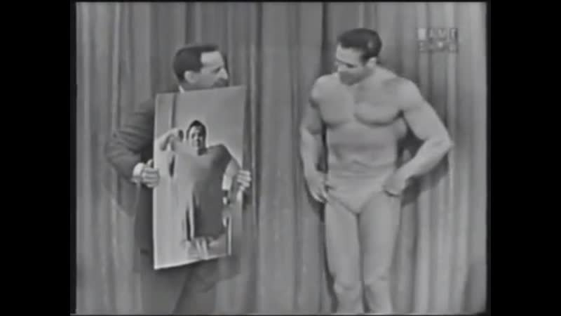 Mr. Universe Bruce Randall (IGaS 11⁄4⁄59, 1 of 3)
