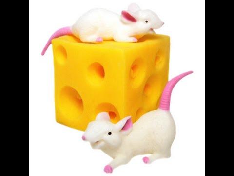 МУЛЬТИК Мышки и сыр игрушка новинка 2015 Stretchy Mice and cheese toys