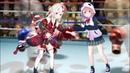 Sasaki Saku and Nakiri Ayame Throw Hands