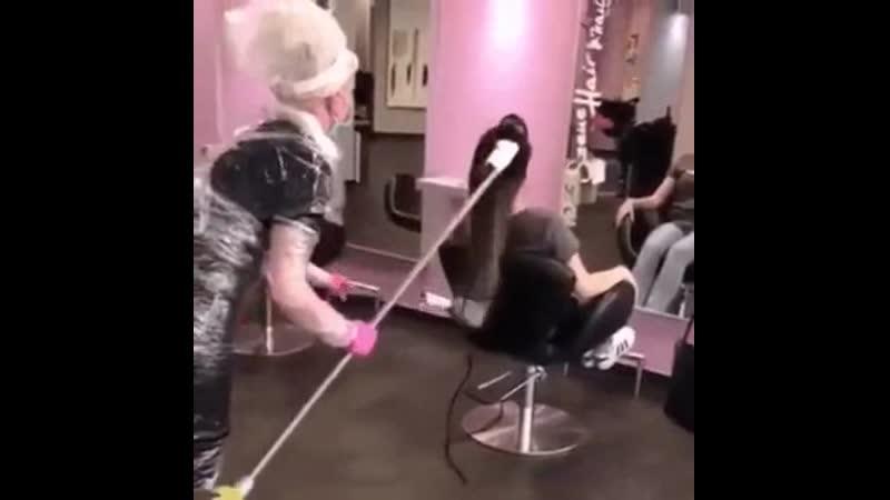 ура парикмахерские открыли