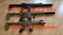 Sig Sauer MCX air gun. How to use it properly!