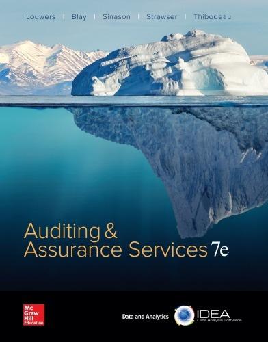 Louwers, Blay, Sinason, Strawser, Thibodeau] Auditing
