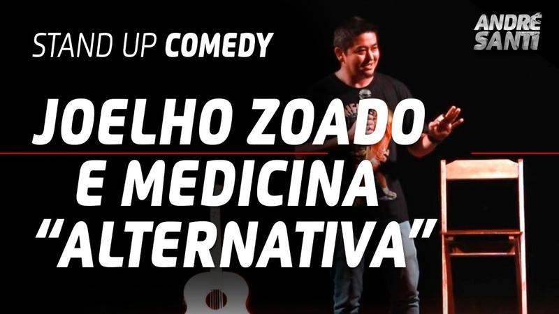 4 ANOS COM O JOELHO ZOADO MAS NÃO FOI NADA André Santi Stand Up Comedy