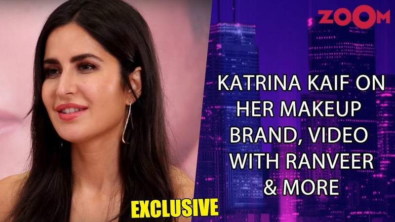 Katrina Kaif on her makeup brand, video with Ranveer, making Salman Aamir try her kajal and more