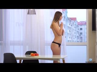 [nubiles.net] sandra phoenix - young beauty [ big boobs, puffy nipples, shaved pussy, tall girls, panties, fair skin, 1080p]