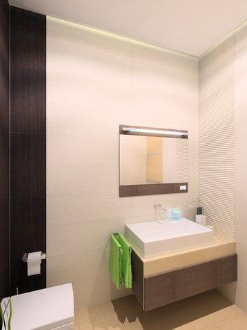 Квартира-студия площадью 33 кв. м. Проект дизайнера