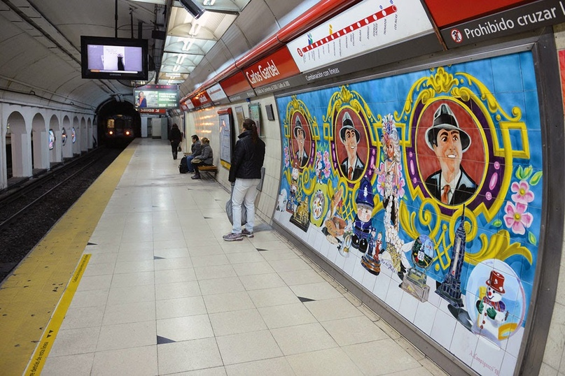 ТОП самых красивых метро, изображение №11
