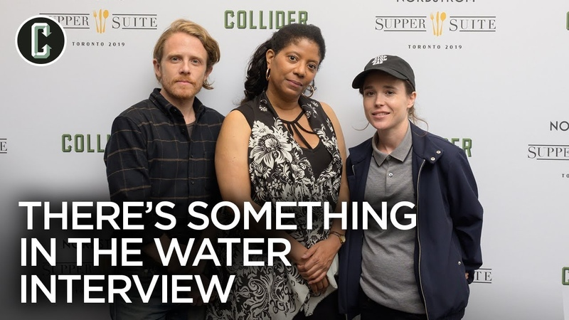 Ellen Page Interview There's Something in the Water