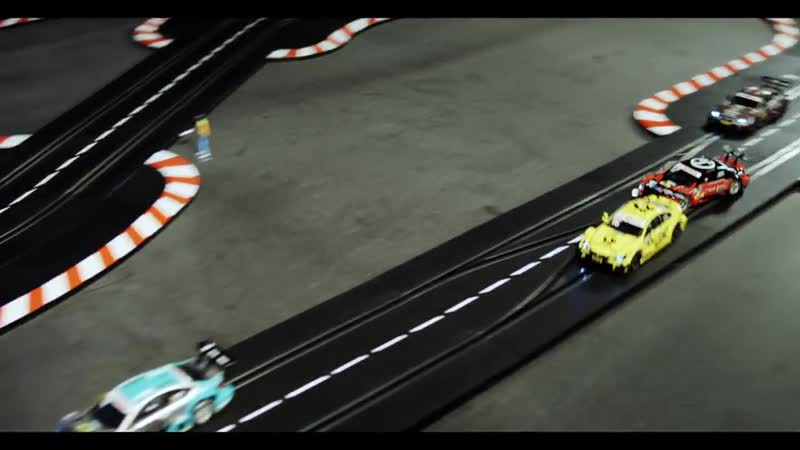 Аренда гонки Slot Car.