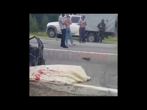 Смертельная авария в Губкинском