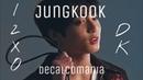 BTS Jungkook정국 - Decalcomania Demo DK I2XO Cover