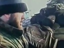 Русский солдат и чечены